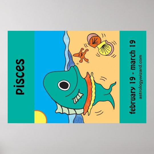 Fisch-Plakat Poster
