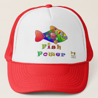 Fisch-Power Truckerkappe