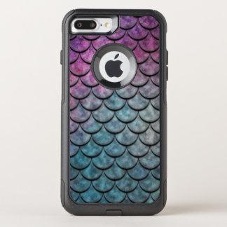 Fisch-Skala-Muster-multi Farbe 4