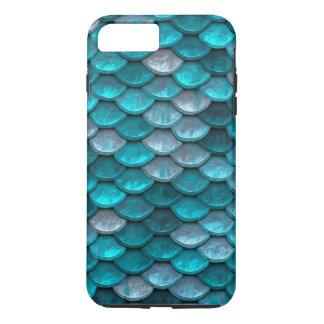 Fisch-Skala-Muster-Schimmer-Knickenten iPhone 7 Plus Hülle