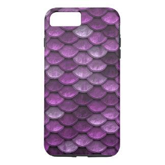 Fisch-Skala-Muster-Schimmer-Purpur iPhone 7 Plus Hülle