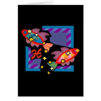 Fisch-Sterne Karte