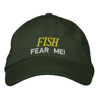 Fische fürchten sich, dass ich Hut stickte