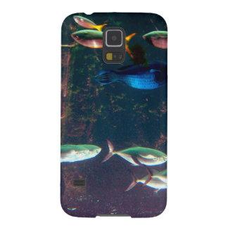 Fische im Aquarium Samsung S5 Cover