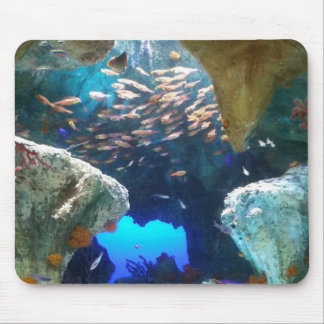 Fische in der AquariumMausunterlage Mousepads