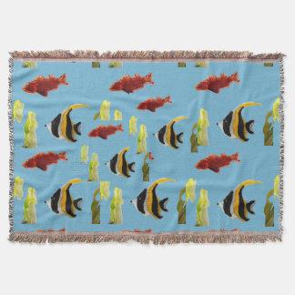 Fische in der Seekunst Decke
