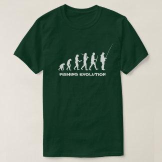 Fischen-Evolutions-lustiger Fischer T-Shirt