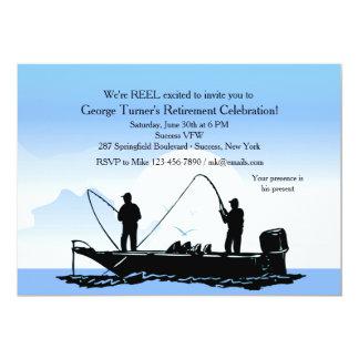 Fischen-Freund-Einladung 12,7 X 17,8 Cm Einladungskarte