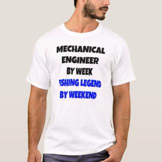 Fischen-Legenden-Maschinenbauingenieur T-Shirt