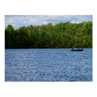 Fischenkarte Postkarte