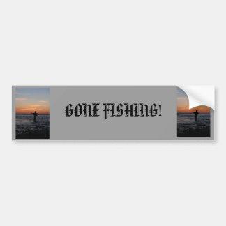 Fischenmansonnenuntergang, Autoaufkleber