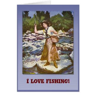 Fischerei der Liebe I Karte