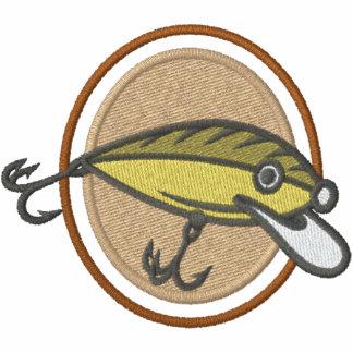 Fischerei des Köders Besticktes Polo Hemd