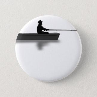 Fischerei Runder Button 5,1 Cm