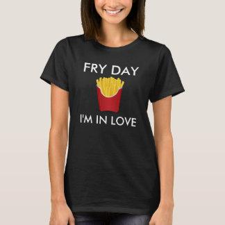 Fischrogen-Tag bin ich im Liebe-T-Stück T-Shirt