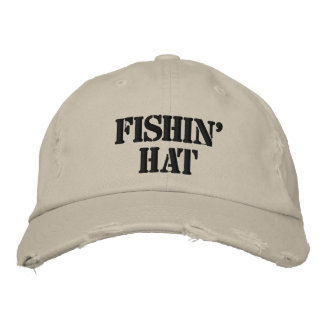 Fishin Hut Bestickte Mütze