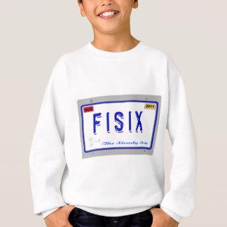 Fisix Lizenz-Platte Sweatshirt