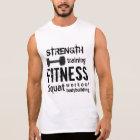 Fitness-Bodybuildings-persönlicher TrainerWorkout Ärmelloses Shirt
