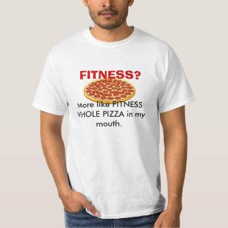 FITNESS-GANZE PIZZA T-Shirt