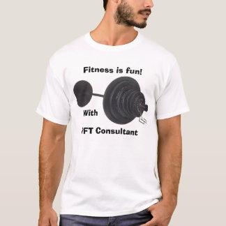 Fitness ist Spaß! , Mit, PFT Berater T-Shirt