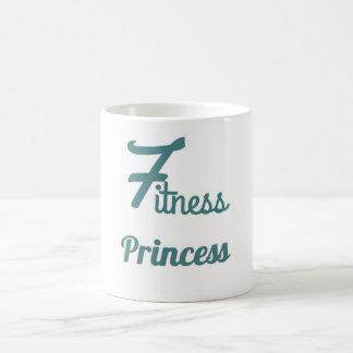 Fitness-Prinzessinkaffee-Tasse Kaffeetasse