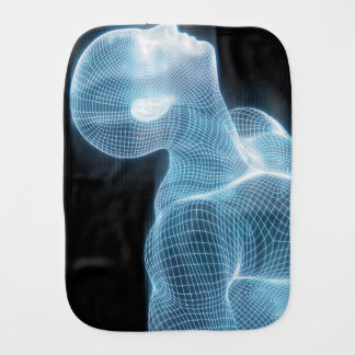 Fitness-Technologie-Wissenschafts-Lebensstil als Spucktuch