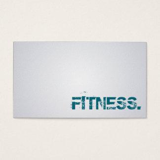 Fitness-Trainer - Geschäfts-Karten Visitenkarten