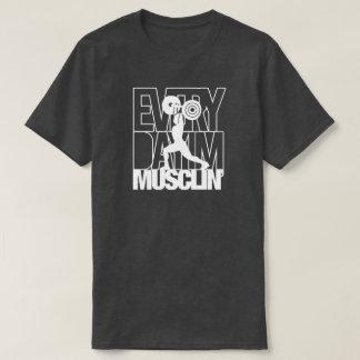 Fitness-Turnhalleworkout-Sport-Muskel-Shirt T-Shirt