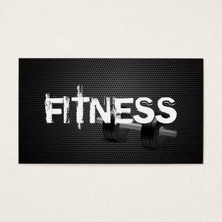 Fitness u. persönliches Trainer-Dunkelheits-Metall Visitenkarte