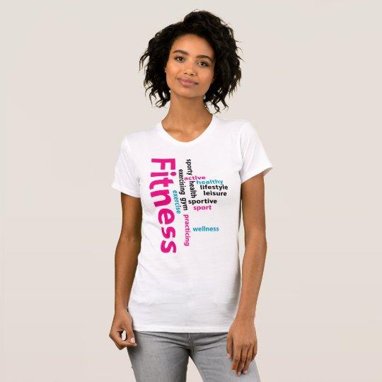 Fitnesswörter T-Shirt