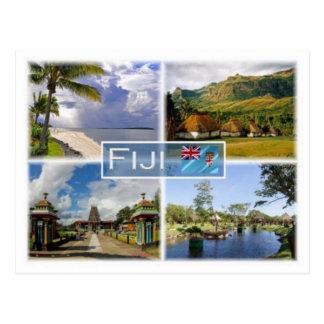 FJ Fidschi - Postkarte