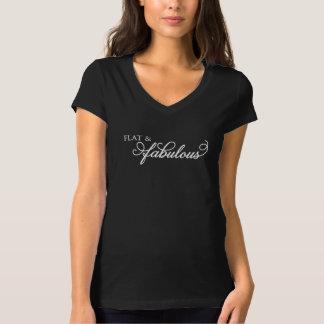 Flach u. fabelhaft T-Shirt
