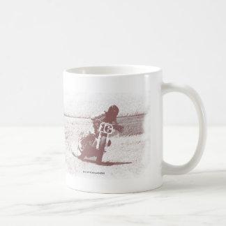 Flache Bahn-Tasse Kaffeetasse