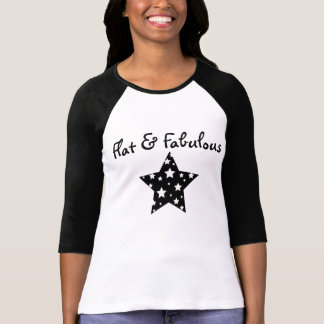 Flacher u. fabelhafter Raglan T-Shirt
