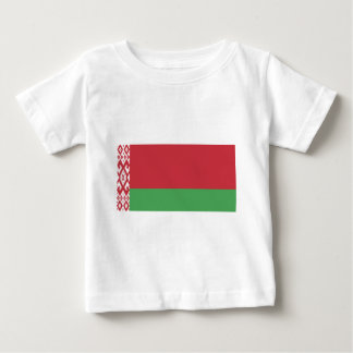 Flag_of_Belarus Baby T-shirt