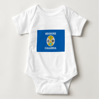 Flag_of_Calabria Baby Strampler