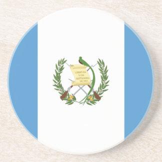 Flag_of_Guatemala Sandstein Untersetzer
