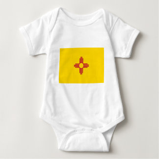Flag_of_New_Mexico Baby Strampler