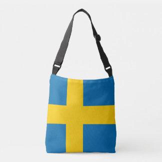 Flag_of_Sweden 6k Tragetaschen Mit Langen Trägern