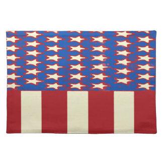 Flagge 2017 feiern Juli 4. Stofftischset