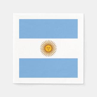 Flagge: Argentinien Servietten