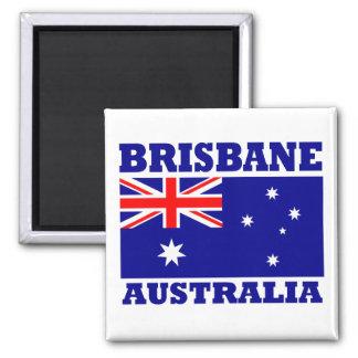 Flagge Brisbanes Australien Quadratischer Magnet