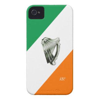 Flagge Chrom-Harfe iPhone Kastens Irlands grünen iPhone 4 Case-Mate Hülle