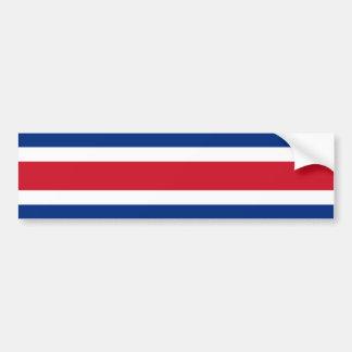 Flagge Costa Ricas, Costa Rica Autoaufkleber