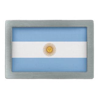 Flagge der Argentinien-Gürtelschnalle Rechteckige Gürtelschnalle