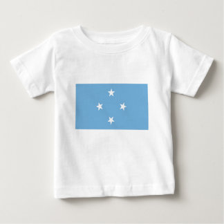 Flagge der Federated States of Micronesia Baby T-shirt