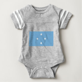 Flagge der Federated States of Micronesia Babybody