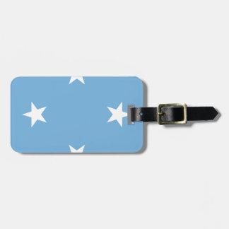 Flagge der Federated States of Micronesia Kofferanhänger