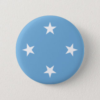 Flagge der Federated States of Micronesia Runder Button 5,1 Cm