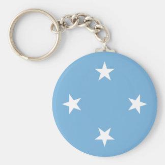 Flagge der Federated States of Micronesia Schlüsselanhänger